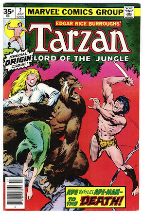 Marvel Comics Tarzan #1 35 Cent Price Variant Edition