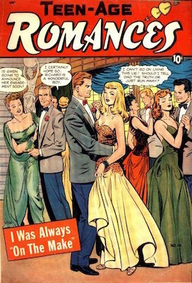 Teen-Age Romances #19. Classic Matt Baker cover. Click for values