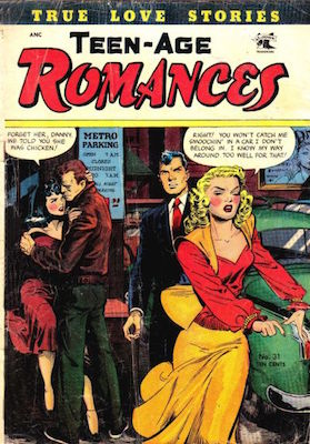 Teen-Age Romances #31, Matt Baker cover. Click for values