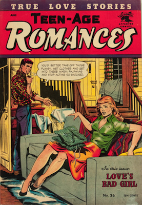 Teen-Age Romances #36, Matt Baker. Click for values