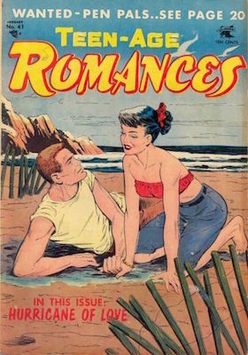 Teen-Age Romances #41. Click for values