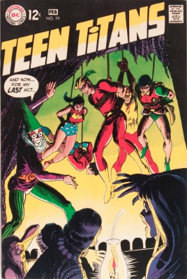 Teen Titans #19 (February, 1969): Aqualad Steps Down, and Speedy Joins. Click for value