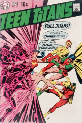 Teen Titans #22 (August, 1969): Origin of Wonder Girl. Click for value
