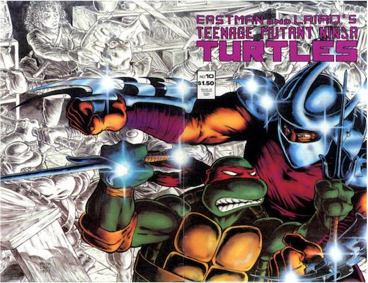 Teenage Mutant Ninja Turtles #10 (1987). Click for values