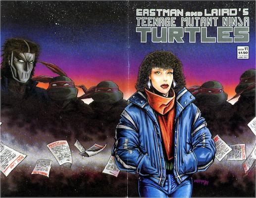 Teenage Mutant Ninja Turtles #11 (1987). Click for values