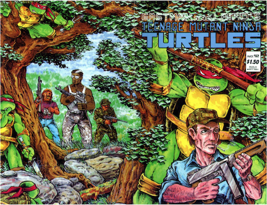 Teenage Mutant Ninja Turtles #12 (1987). Click for values