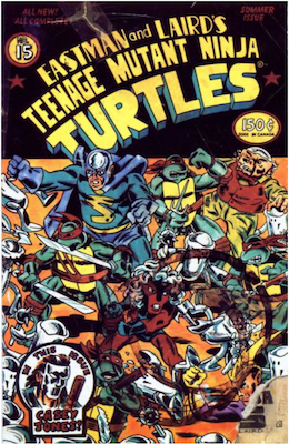 Teenage Mutant Ninja Turtles #15 (1988). Click for values
