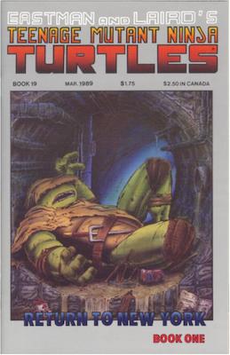 Teenage Mutant Ninja Turtles #19 (1989). Click for values