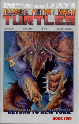Teenage Mutant Ninja Turtles #20 (1989). Click for values