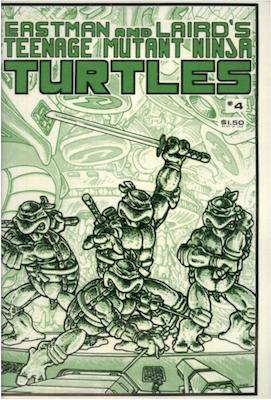 Teenage Mutant Ninja Turtles #4 (1985). Click for values