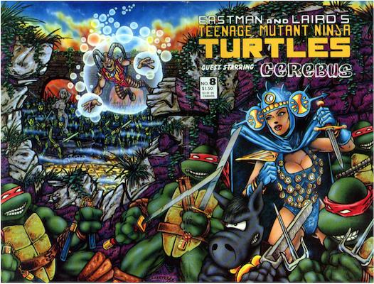 Teenage Mutant Ninja Turtles #8 (1986). Click for values