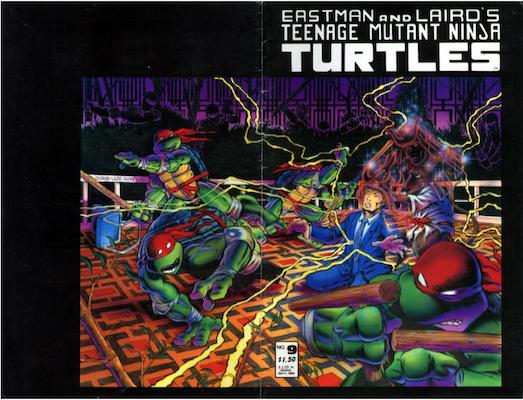 Teenage Mutant Ninja Turtles #9 (1986). Click for values