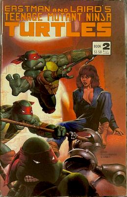 Teenage Mutant Ninja Turtles #2 (1984): 2nd Appearance of Turtles. 2nd printing. Click for value