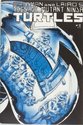 Teenage Mutant Ninja Turtles #2 (1984): 2nd Appearance of Turtles. Click for value