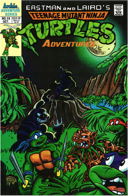 Teenage Mutant Ninja Turtles Adventures #15 (1989): Archie Publications. Click for values