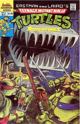 Teenage Mutant Ninja Turtles Adventures #2 (1989): Archie Publications. Click for values