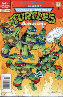 Teenage Mutant Ninja Turtles Adventures #72 (1989): Archie Publications. Click for values