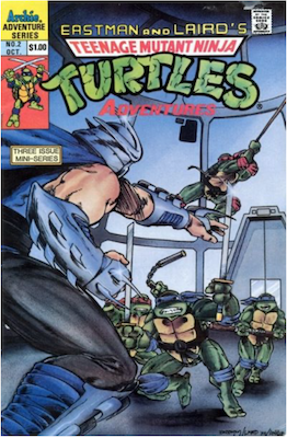 Teenage Mutant Ninja Turtles Adventures #2 (1988): Archie Publications. Click for values