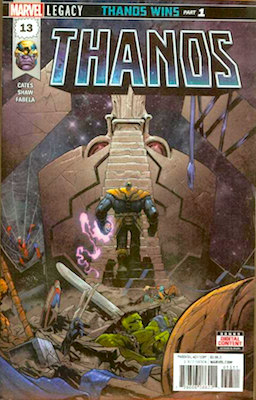 Hot Thanos Comic: Thanos #13, 1st Appearance of Cosmic Ghost Rider. Click to read more