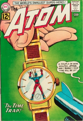 Origin and First Appearance, Chronos, The Atom #3, DC Comics, 1962. Click for value