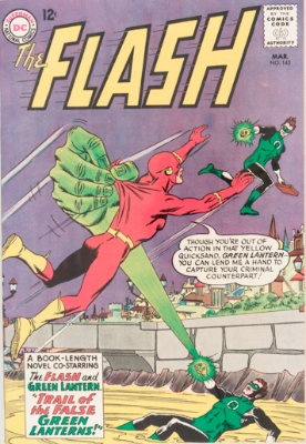 Origin and First Appearance, T.O. Morrow, Flash #143, DC Comics, 1964. Click for value