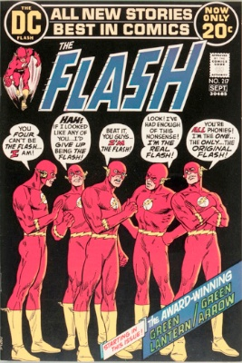 Origin and First Appearance, Rainbow Raiders, Flash #217, DC Comics, 2005. Click for value