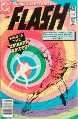 Origin and First Appearance, Rainbow Raider, Flash #286, DC Comics, 1980. Click for value