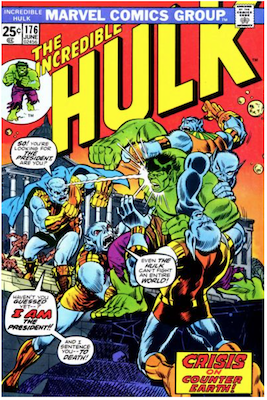 Incredible Hulk #176: Cameo appearance of Warlock. Click for values.