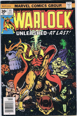 The Power of Warlock #15. Click for values.