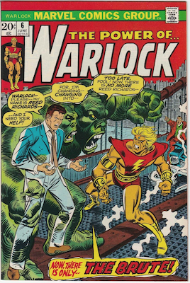 The Power of Warlock #6. Click for values.