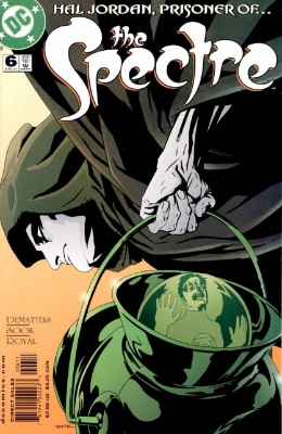 Origin and First Appearance, Monsieur Stigmonus, The Spectre (vol. 4) #6, DC Comics, 2001. Click for value