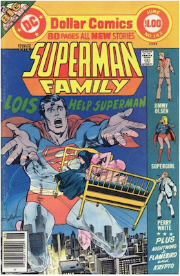 The Superman Family #183 (1974). Click for values.