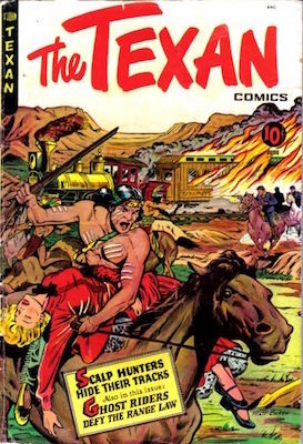The Texan #8, Matt Baker cover. Click for values