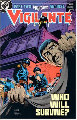 The Vigilante #21 (1983). Click for values.