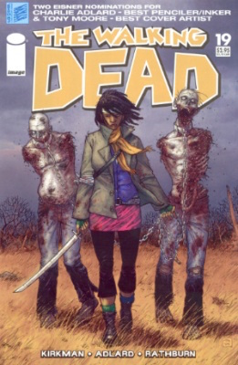The Walking Dead comic #19: First appearance of Michonne. Click to buy yours