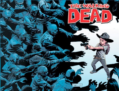 Walking Dead #50 Wraparound cover