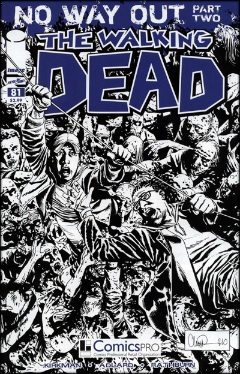 Walking Dead 81 ComicsPro variant: worth around $250 in CGC 9.8. Click to buy yours
