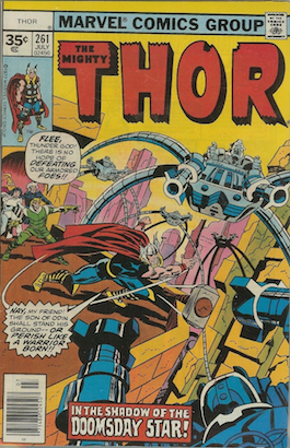 Thor #261 Marvel 35c Price Variant