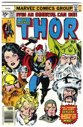 Thor #262 Marvel 35 Cent Price Variant