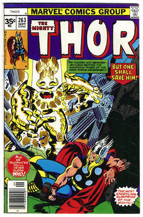 Thor #263 Marvel 35c Price Variant