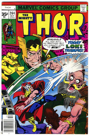 Thor #264 35 Cent Price Variant