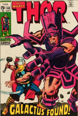 Thor #168: Origin of Galactus. Click for value