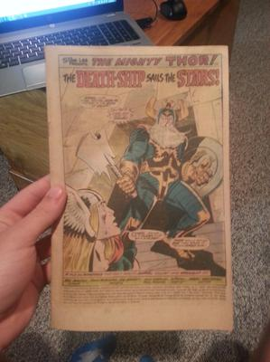 Thor Marvel Comic #241 Coverless Value?