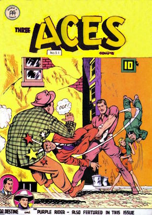 Three Aces Comics #51