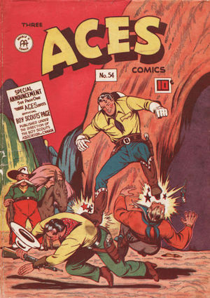 Three Aces Comics #54