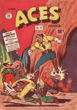 Three Aces Comics #54