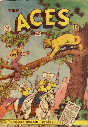 Three Aces Comics #55