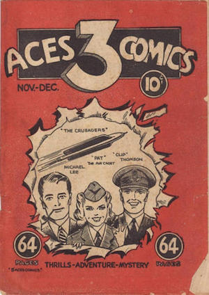 Canadian Whites: Three Aces Comics v1 #1