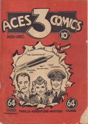 Canadian Whites: Three Aces Comics v1 #1