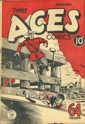 Three Aces Comics v1 #11